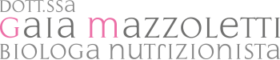 logo gaia mazzoletti biologa nutrizionista